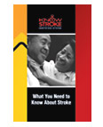 What You Need to Know About Stroke brochure image